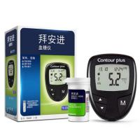 拜耳拜安進血糖試紙100片+血糖儀家用醫用血糖測試儀原拜耳試紙